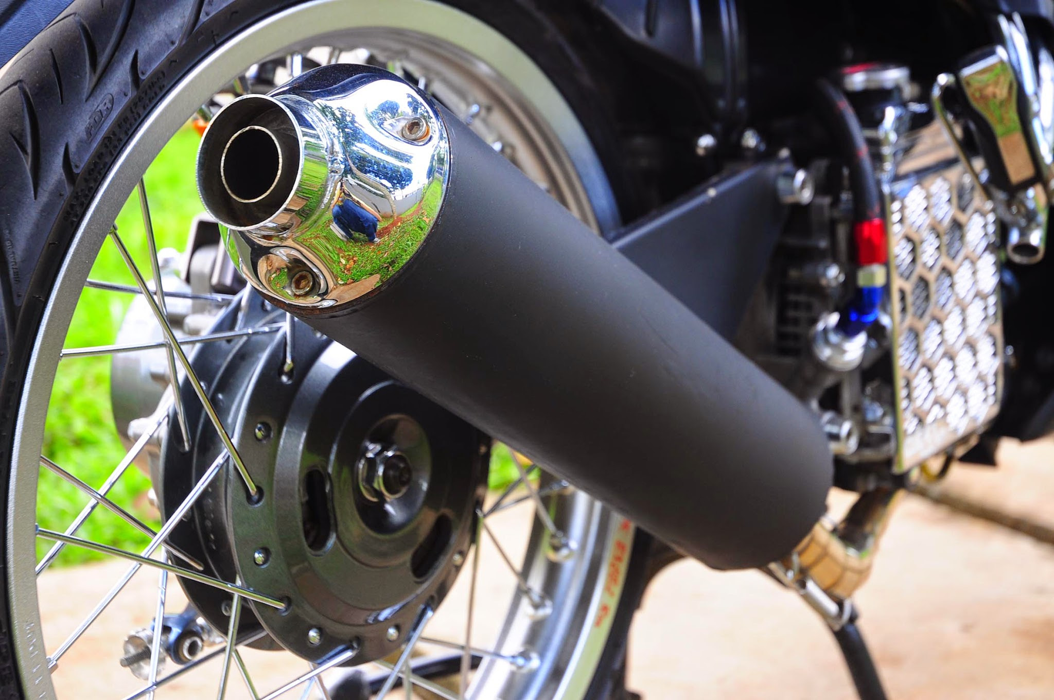 Download Ide 66 Modifikasi Motor Honda Blade 2010 Terupdate Pojok
