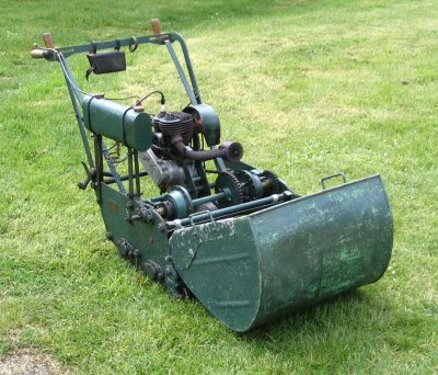 Image result for old lawn mower
