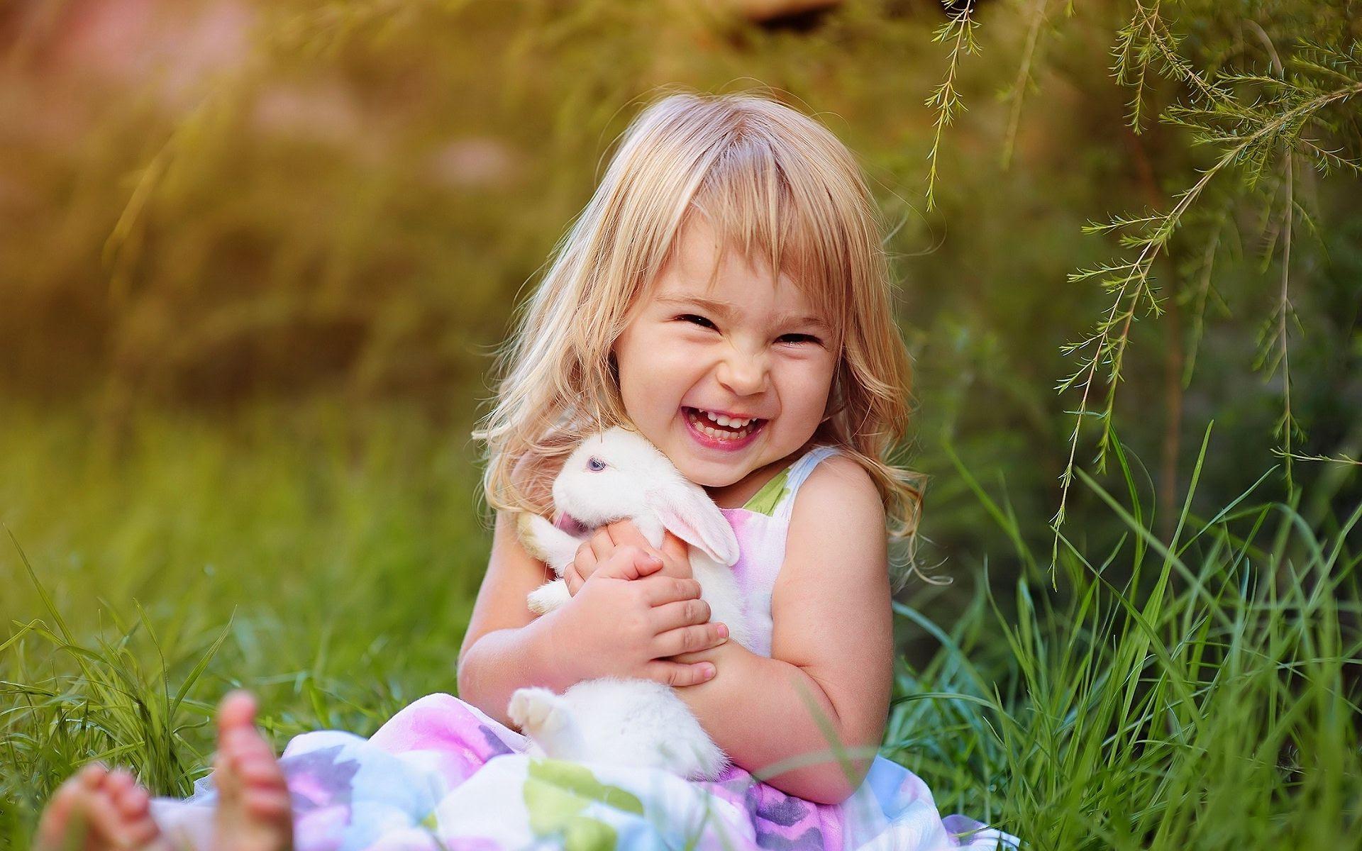 Lovely Baby Girl Desktop Background  PixelsTalk.Net