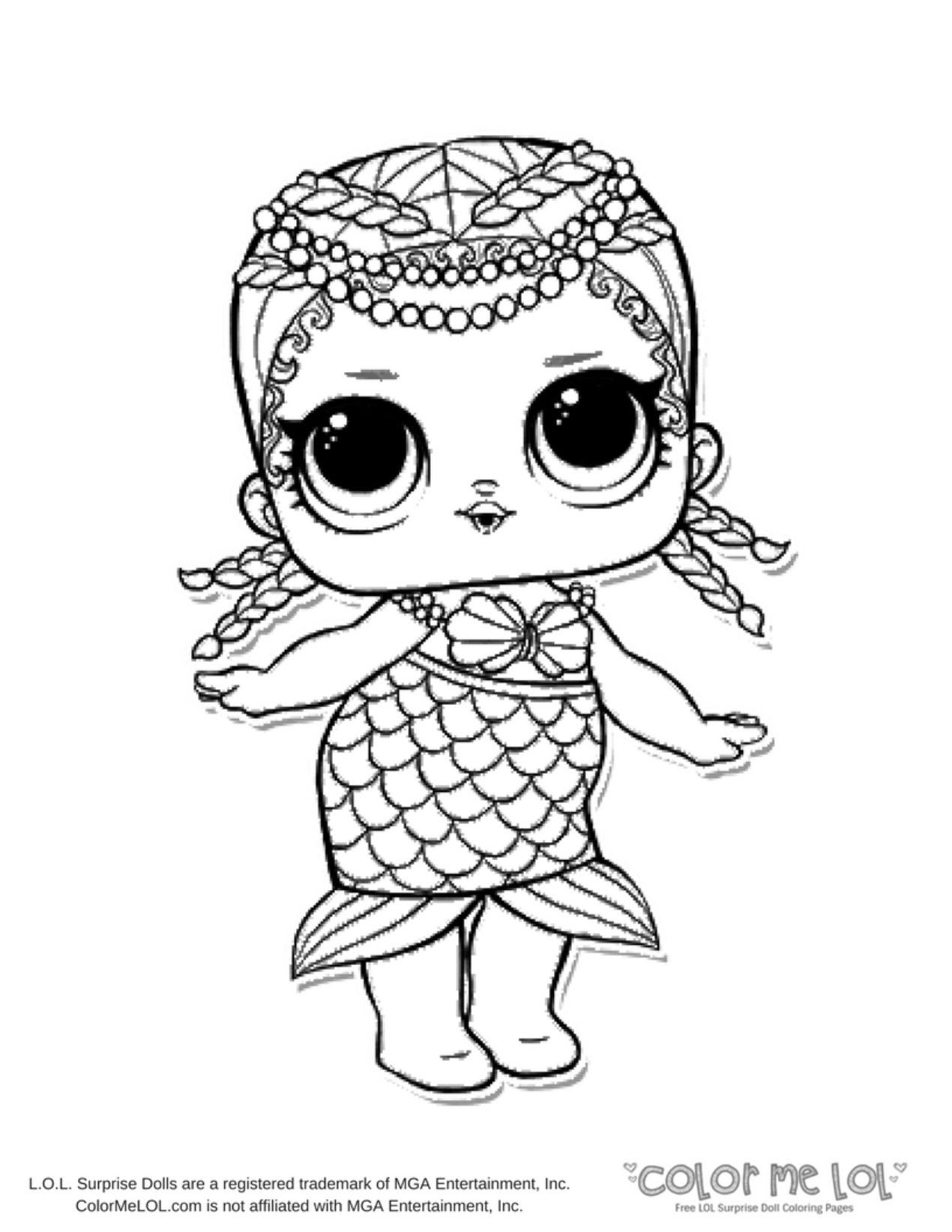 Coloring pages kids: Lol Surprise Coloring Sheet