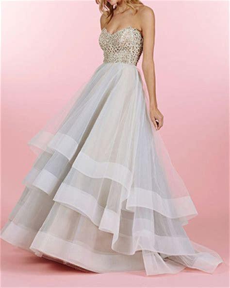 organza prom dressessilver grey prom dressmodest prom