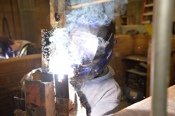 Welding: Continuing Studies: Thompson Rivers University welding course vancouver