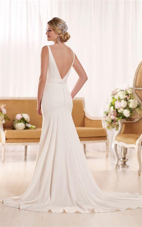 modern classic wedding dresses essense  australia