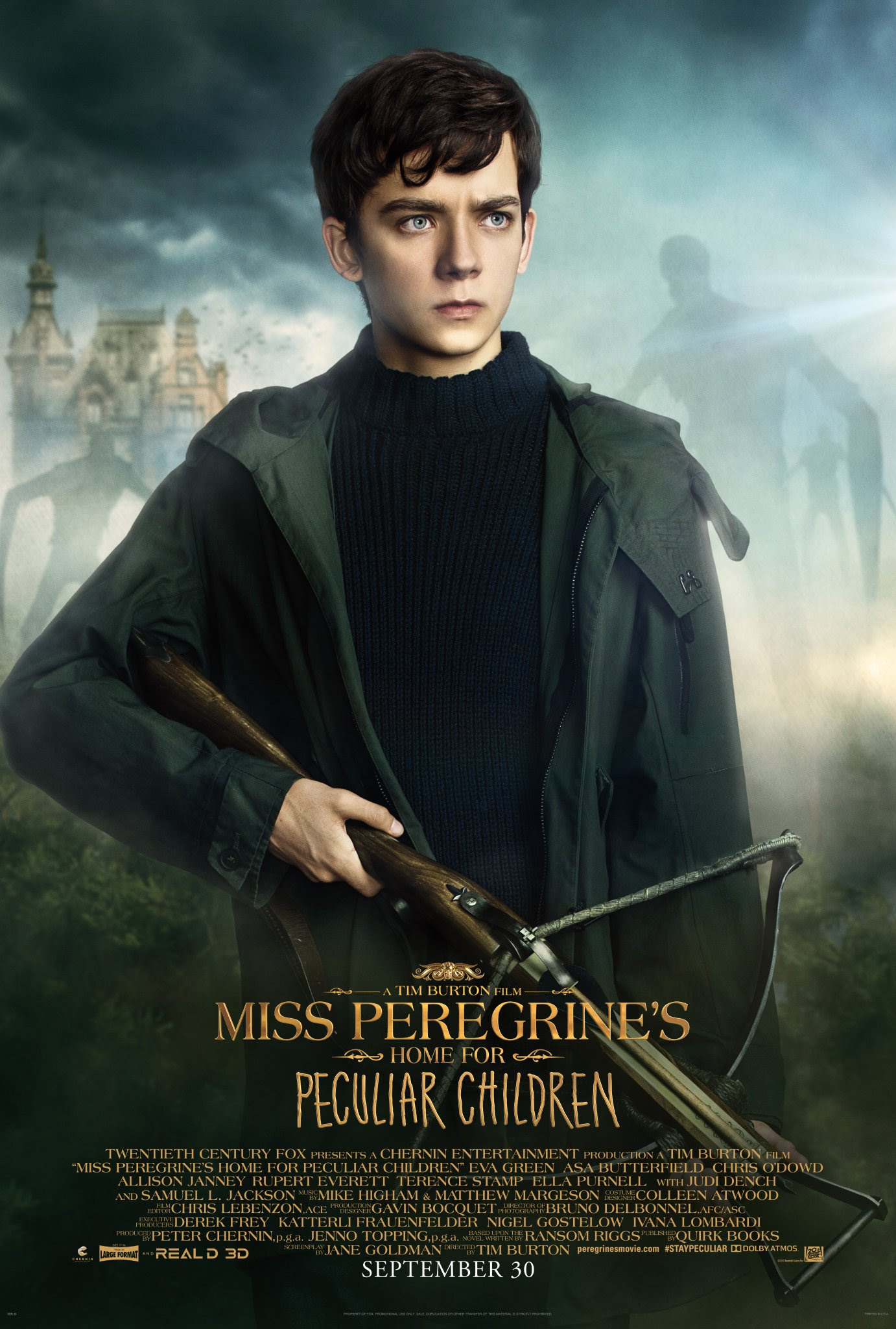 Miss Peregrine S Home For Peculiar Children Jacob Portman Poster