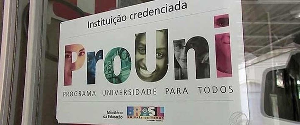 O Programa Universidade para Todos (Prouni) concede bolsas de estudo integrais e parciais (de 50%) em instituições privadas de educação superior (Foto: Reprodução/G1)