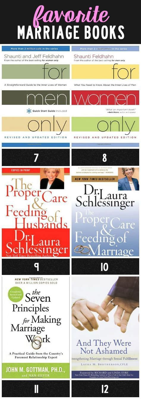Our Top 12 Favorite Marriage Books   The Dating Divas