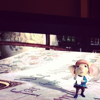 Day56 ending the day watching The Tale of Despereaux #jessie365 2.25.13