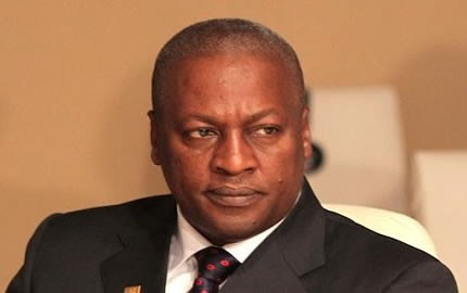 Republic of Ghana President John Mahama was re-elected to office. He took over as vice-president after the sudden death of John Atta Mills earlier in 2012. by Pan-African News Wire File Photos