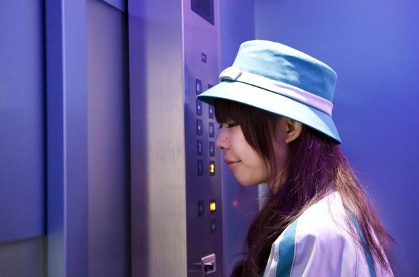 Văn hóa đi thang máy của người Nhật - Ảnh 1.