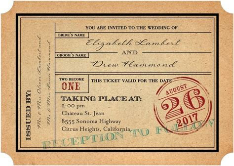 35 Stylish Wedding Invitations That You Can Actually