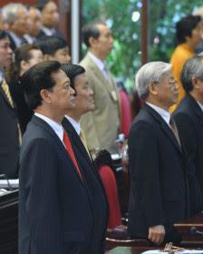 Bộ ba lãnh đạo Việt Nam