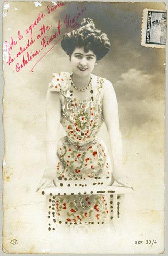 Girl in Jeweled dress