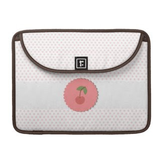 Kawaii Cherry Macbook Pro Sleeves