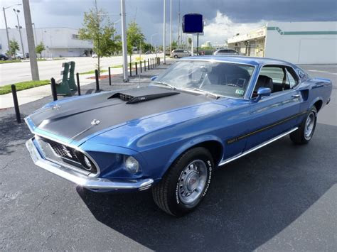 Ford Mustang 1969 Fastback Prix