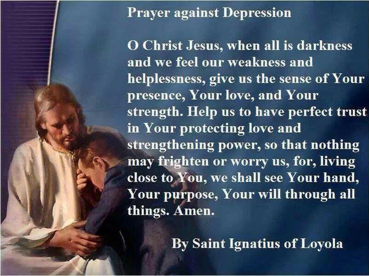 Prayer for depression | Mental health awareness | Pinterest
