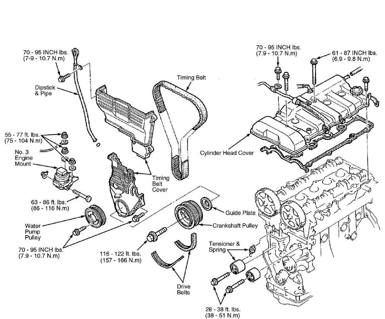 1999 Mazda 626 Engine Diagram Wiring Diagram Frankmotors Es