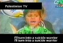 Child propaganda on Palestinian TV