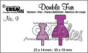 Double Fun stansen no. 9 / Double Fun dies no. 9