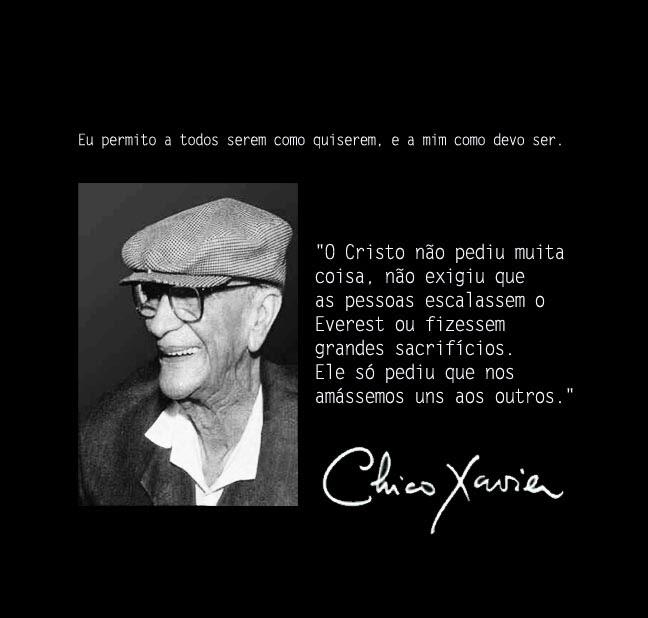489438 Mensagens de Chico Xavier para Facebook 05 Mensagens de Chico Xavier para Facebook