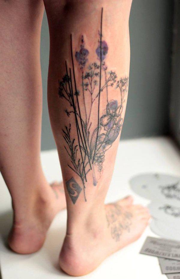 50 Amazing Calf Tattoos Art And Design