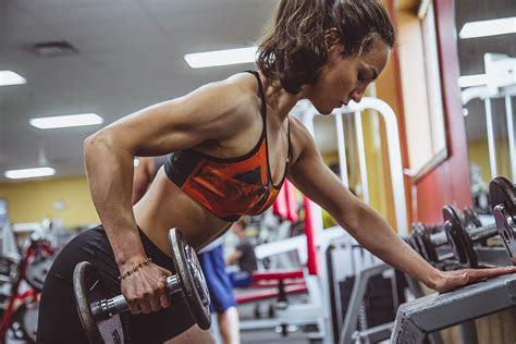 woman   strength training inbody usa