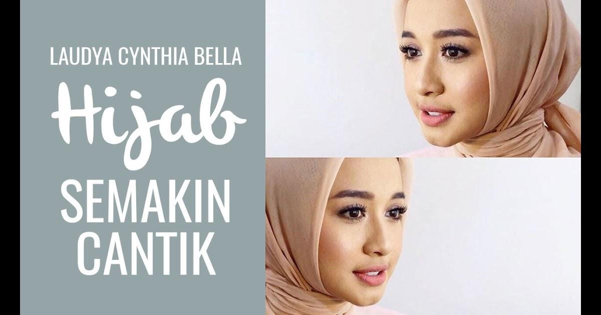 Tutorial Hijab Segi Empat Laudya Cynthia Bella Sejutahijab
