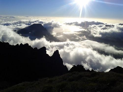 Trail running La Palma