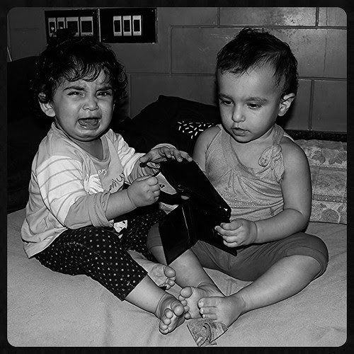 Nerjis And Zinnia Fight For My Empty Wallet by firoze shakir photographerno1