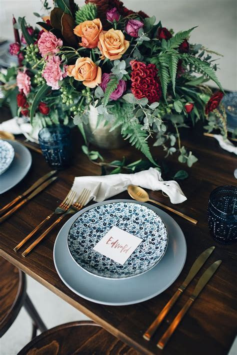 25  best ideas about Table Place Settings on Pinterest