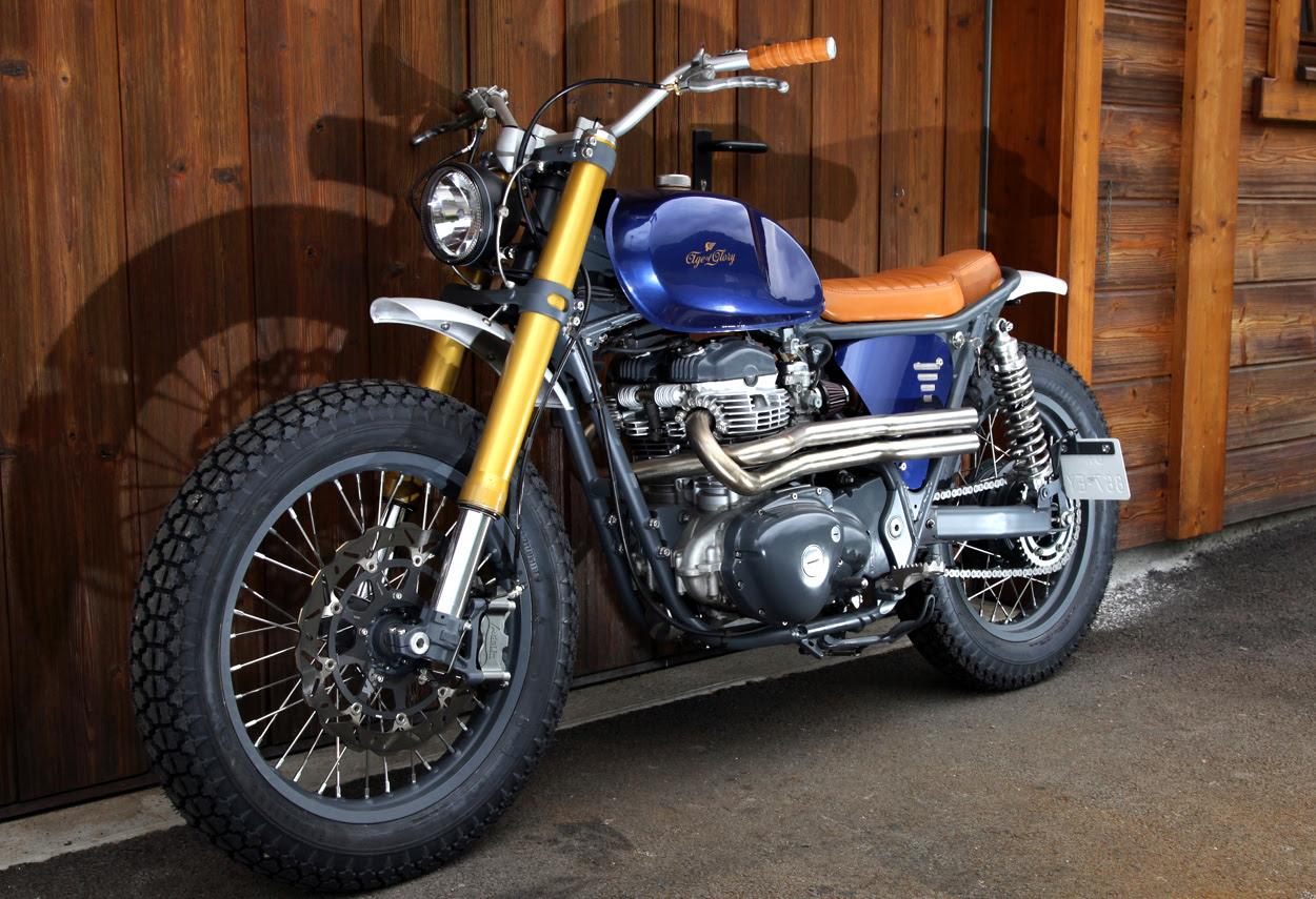 Kawasaki W650 Tracker By Age Of Glory X Egerie Moto Bikebound