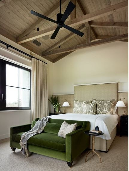 """A Velvet Sofa - The Starting Point For My """"New"""" Living Room"""