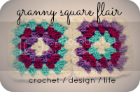Granny Square Flair