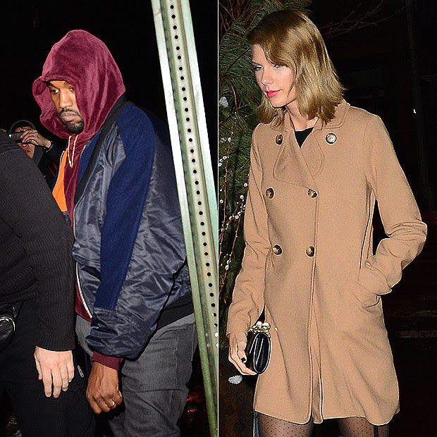 Kanye West e Taylor Swift (Foto: AKM GSI / AKM GSI Brasil)
