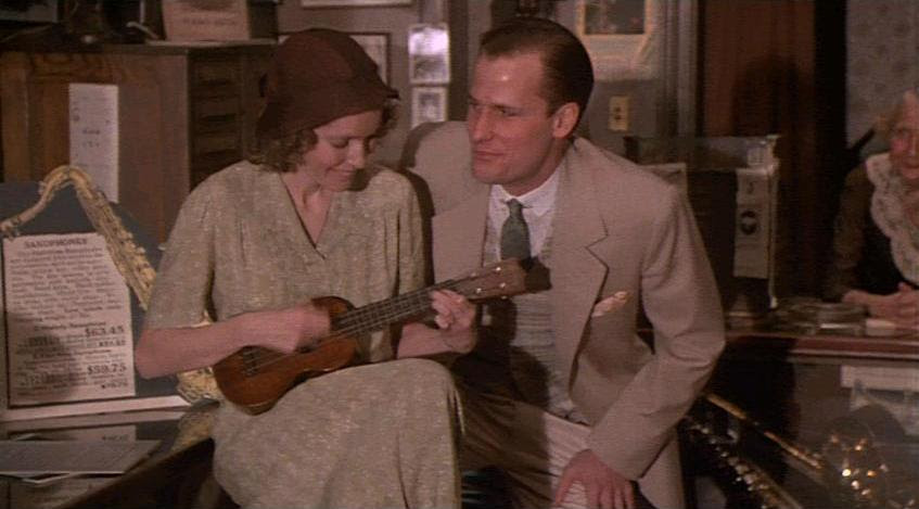 Did I mention, though, that The Purple Rose of Cairo is, at least in large