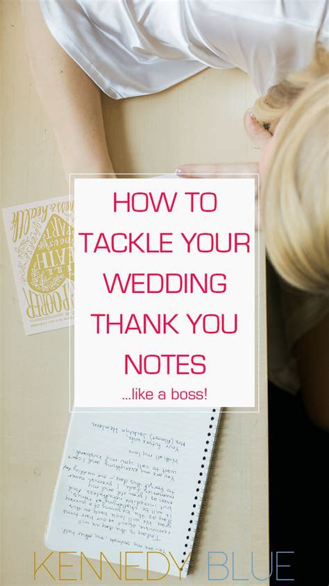 How To Tackle Wedding Thank You Notes Like a Boss   Member