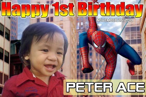 Peter Ace's Spiderman Design   Cebu Balloons and Party