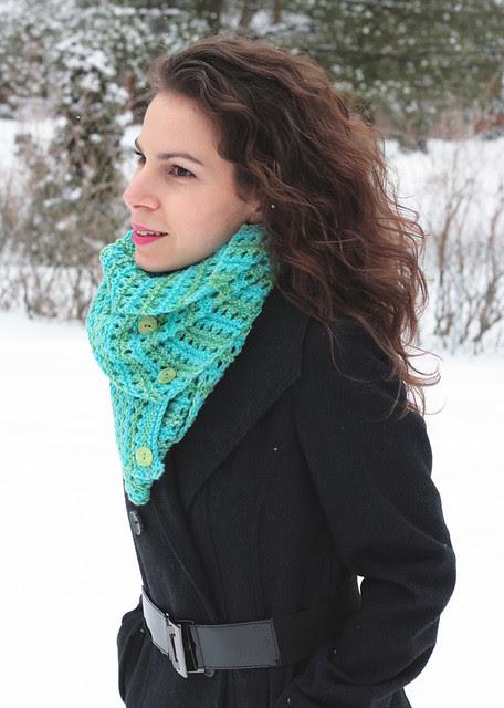 Mint Sea scarf