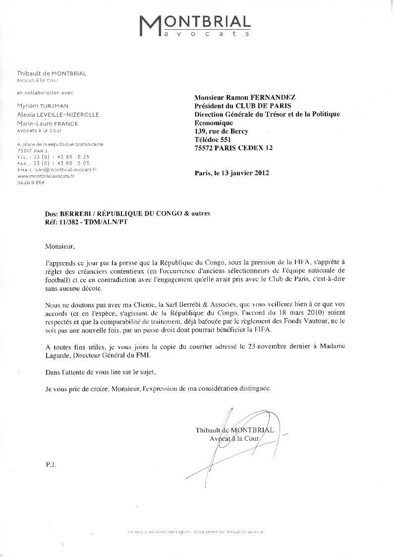 Exemple De Lettre De Démission Amiable | Covering Letter Example