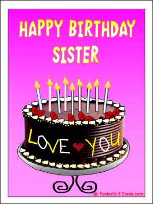 Happy Birthday Cake Quotes For Sister