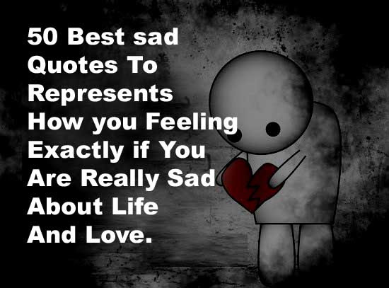 50 Best Sad Quotes With Images Quote Ideas
