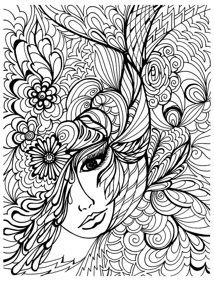 Difficult Coloring Pages For Kids Hard - Drawing With Crayons