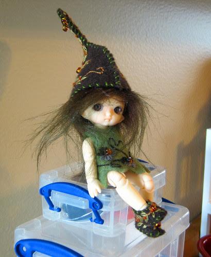 Maddy as an elf