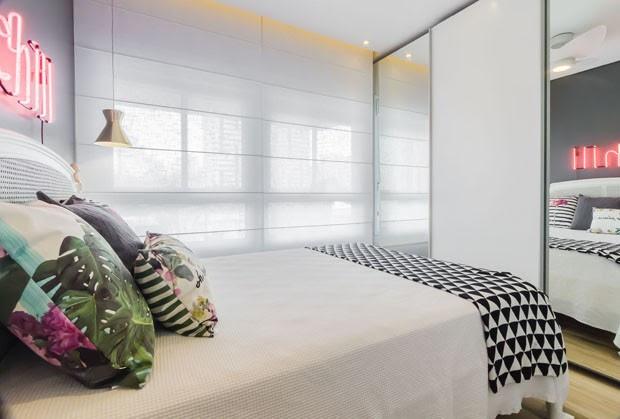 Um apartamento pequeno, jovem e moderno na Vila Mariana, em São Paulo (Foto: Divulgação)