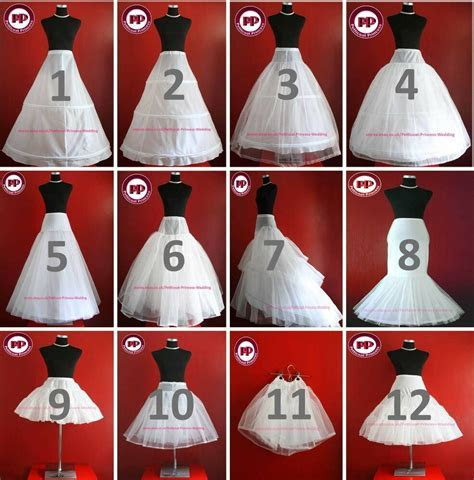 White & Ivory BRIDAL WEDDING DRESS /PROM PETTICOAT