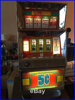 Slot machine payout percentages