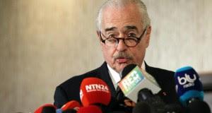 El jefe de la Misión de Observación Electoral de la Organización de los Estados Americanos (MOE/OEA), el expresidente de Colombia Andrés Pastrana.