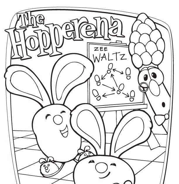 16 Veggietales Coloring Pages - Printable Coloring Pages