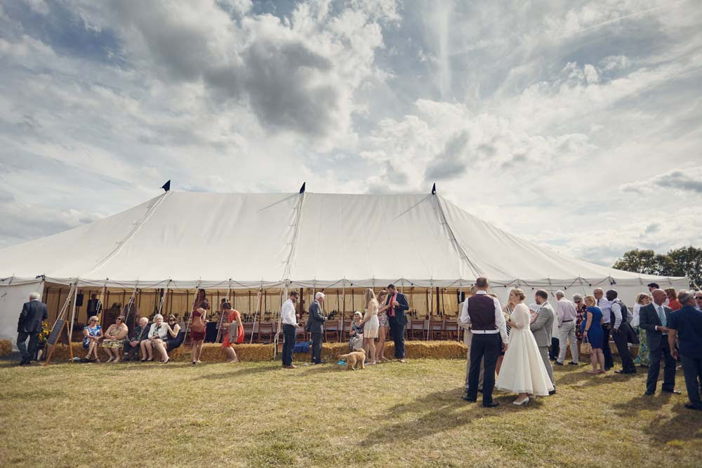Marquee Wedding in Cambridge - www.helloromance.co.uk