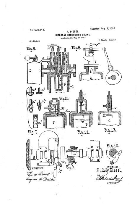 Patent US608845 - Internal-combustion engine - Google Patents
