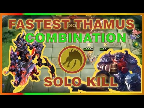 FASTEST THAMUS USING DRAGON CRYSTAL (RAMPAGE KILL) | NEW UPDATE MAGIC CHESS STRATEGY | MRL GAMING